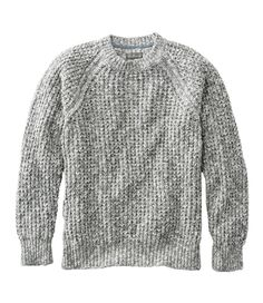 Find the best Signature Cotton Ragg Sweater, Crewneck at L. Our high quality Men's Sweaters and Sweatshirts are thoughtfully designed and built to last season after season. Suit Fashion, Mens Fashion, Fashion Outfits, Cool Signatures, Waffle Stitch, Rugged Look, Mens Sweatshirts, Jeans, Crew Neck