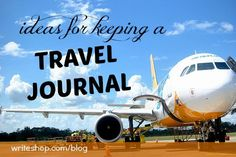 travel journal and writing ideas from the Write Shop, lots of fun themes and prompts to capturing moments and feelings that photos don't always tell the whole story