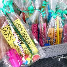 Bag 'Em Up! {Birthday in a Bag} | Primarily Speaking