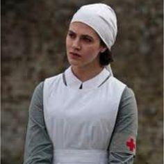 Costume Idea. Sybil from Downton  Abbey as a nurse. Photo from threadmaiden.blogspot.com