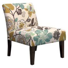 Avington Armless Slipper Chair - Gorgeous Pearl