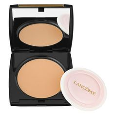 Lancome Dual Finish Fragrance Free  Versatile Powder Makeup  http://www.lancome-usa.com/Dual-Finish-Fragrance-Free/990479,default,pd.html?dwvar_990479_color=Matte%20Amande%20III&start=3&cgid=makeup-foundation  I use this with a kabuki brush to put on over my foundation. And it looks great!