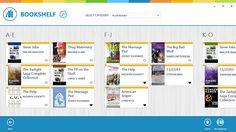 Bookshelf Windows 8 App