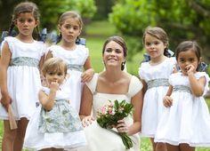 Cómo vestir a los pajes y damitas de una boda