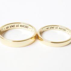 Obrúčky s príbehom Bangles, Bracelets, Wedding Rings, Engagement Rings, Jewelry, Couple, Weddings, Enagement Rings, Jewlery