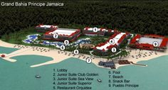 Map Layout Gran Bahia Principe Jamaica