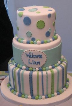 Simple Baby Shower Cake Designs | Baby Cakes! | Theartfulcake's Blog
