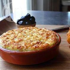 Brandade de bacalhau com batata @ allrecipes.com.br