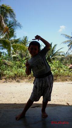 Adorable petit Javanais. #voyage #Indonesie