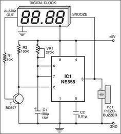 Simple Tone Generator Circuit Diagram | Electronics Projects/Info ...