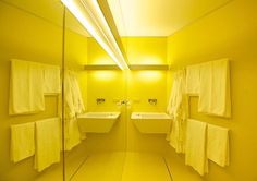 wave, Vienna, 2012 - di dolphi danninger #yellow #interiors #colors