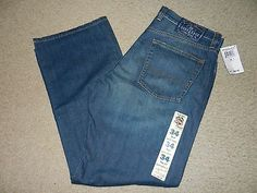 NEW Lucky Brand Dungarees Mens Jeans Size 34 Short Med 34 x 30 Boot Cut Relaxed