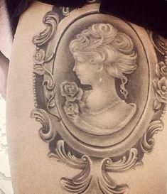 cameo tattoo