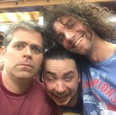 Brian, Arin and Danny