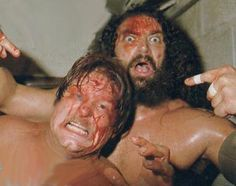Stan Hansen and Bruiser Brody.