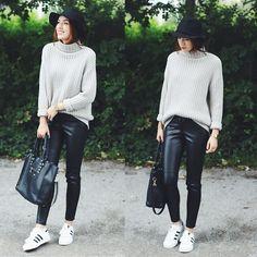 Sweater + Leather   LOOKBOOK.nu   Bloglovin