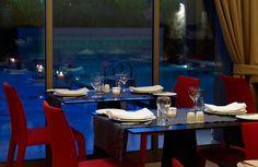 #Restaurant View of the #pool #SamariaHotel #Chania #Crete