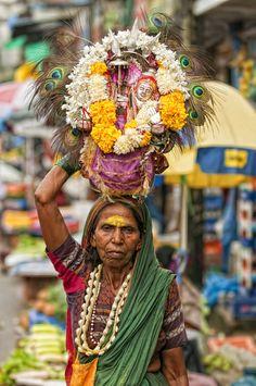 Indian Gypsy in Kerala, India.