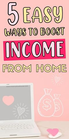 Are you looking to make some extra money from home? Here are 5 ways that you can start supplementing your income from the comfort of your home. From profitable survey sites to teaching online these 5 ways to make extra money online are 100% legitimate. Make More Money, Ways To Save Money, Make Money From Home, Extra Money, Teach English To Kids, Teaching English Online, Online Job Opportunities, Grocery Savings Tips, Money Saving Mom