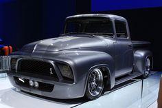 "Gene Simmons ""Snakebit"" 1956 Ford F100 @ SEMA Show 2013"