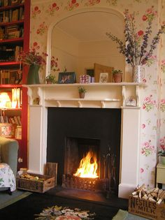 roaring fires to snuggle up beside on cold winter evenings