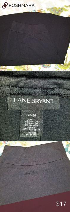 Black Lane Bryant Circle Skirt Black Lane Bryant Circle Skirt Lane Bryant Skirts Circle & Skater