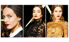 Make-up Dolce & Gabbana collection automne-hiver 2013-2014