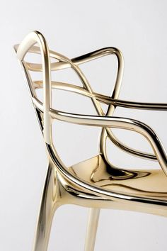 Gold Masters Chair/Designed by STARCK