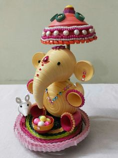Ganesh quilling