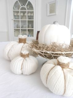 Evelyn and Rose: Sweater Pumpkin Tutorial