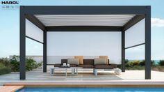 NOMO terrasoverkapping van Harol, verkrijgbaar bij Van Esseveld! 0318-472114