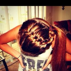 i tried this once in came out great everyone said but it didn't please me its a really cute hair style though