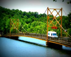 The other Golden Gate Bridge - Beaver, AR ~. Oh yeah!  I grew up HERE. Lucky me!