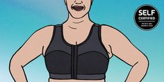 Large busted folks, this one's for you. Best Sports Bras, Intense Workout, Jumping Jacks, How To Run Faster, Rib Cage, Post Workout, Fitness Goals, Snug Fit, Things That Bounce