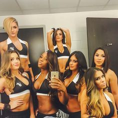 The Miami Heat Dancers Take Great Selfies!