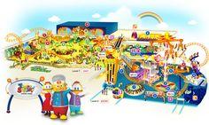 Berjaya Times Square -Theme Park Map