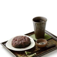 大判おはぎ(煎茶付き)