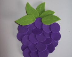 Amora - Aplique Kids Crafts, Owl Crafts, Diy And Crafts, Paper Crafts, Bible Activities, Activities For Kids, Grapes Costume, Creative Arts And Crafts, Fall Fruits