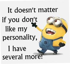Real Funny Minions jokes AM, Monday December 2015 PST) – 10 pics Funny Minion Memes, Minions Quotes, Cartoon Quotes, Minions Love, Minion Stuff, Minions Minions, Minion Pictures, Twisted Humor, Just For Laughs