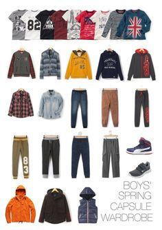 Boys' spring capsule wardrobe by immortel on Polyvore featuring Pepe Jeans London and adidas