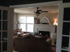 After- living room