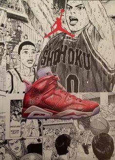 Jordan x Slamdunk