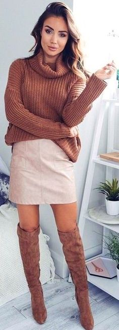 #fall #trending #outfits |  Camel + Tan Outfit