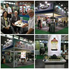 It was lovely to catch up with Flora Manufacturing's Chinese Distributor at the Natural Products Show in Shanghai, June 2013