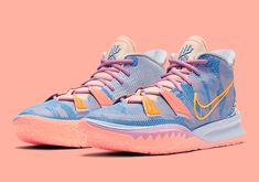 Tenis Basketball, Girls Basketball Shoes, Volleyball Shoes, Cool Nike Shoes, Latest Nike Shoes, Lavender Shoes, Kyrie Irving Shoes, Sneakers Fashion, Sneakers Nike