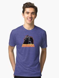MICRODISNEY Tri-blend T-Shirt