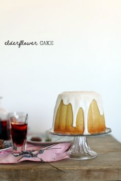 Elderflower Cake. #food #cake #dessert