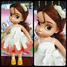 Disney Baby doll clothes dress clothing Animator's collection Princess011 #newbrand