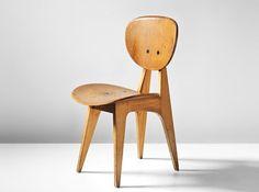 Side Chair 3221 by Junzo Sakakura