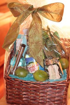 Gifts that keep on giving: Booze Baskets